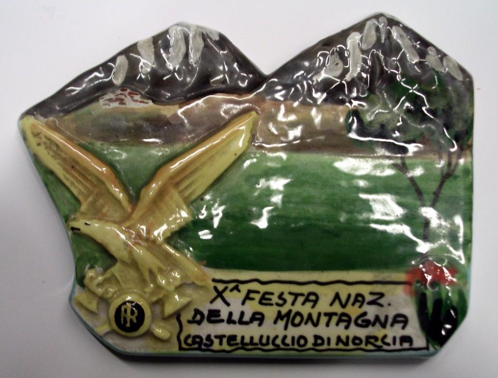 Ceramica X Festa Nazionale della Montagna - 1961